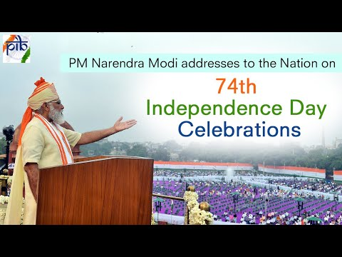 74th Independence Day Celebrations   PM's address to the Nation - LIVE from the Red Fort