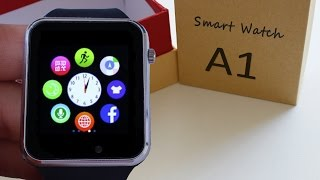 A1 smartwatch 10💲  Camera 0.2 Mpx   Bluetooth 3.0   micro SIM 📦  REVIEW