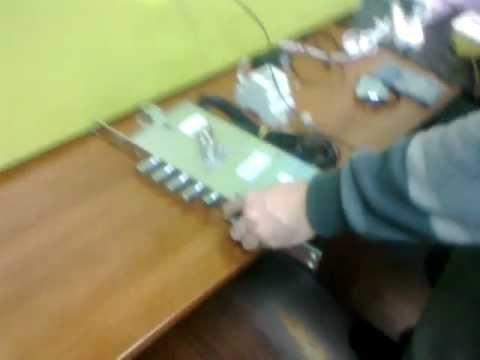 Работа моторного замка ISEO X1R от биометрии ekey