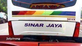 Video Sinar jaya ditempel didorong bus Luragung Ac  ASKARIA(ranger) MP3, 3GP, MP4, WEBM, AVI, FLV Februari 2018