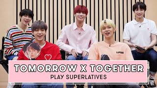 TOMORROW X TOGETHER Reveals Who is the Funniest, the Most Romantic and More   Superlatives by Seventeen Magazine