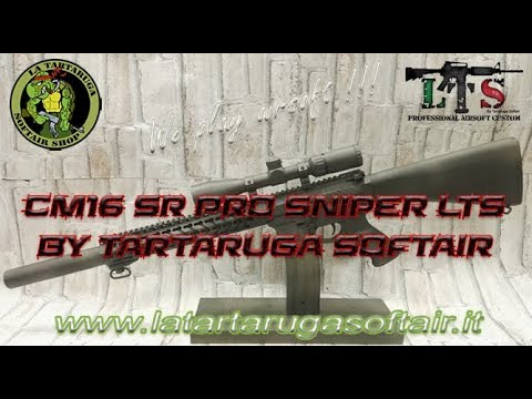 CM16 SR Pro Sniper LTS by La Tartaruga Softair
