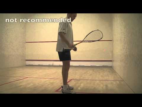 Tips for playing squash: Squash service tips, where to stand squash serve tip for squash
