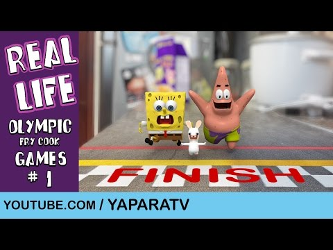 SpongeBob In Real Life 6 - Olympic Fry Cook Games (1)