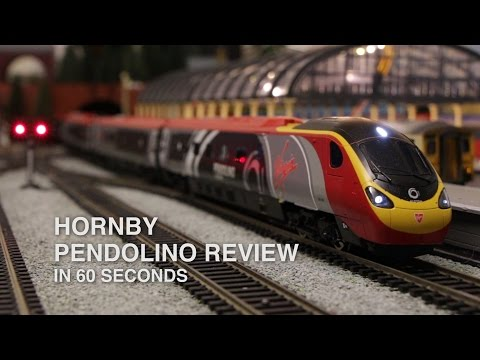 Hornby Pendolino - 60 Second Review