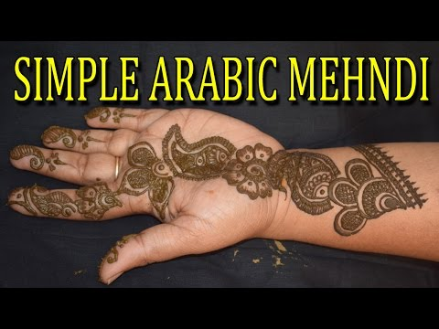 Video How To Make Arabic Mehndi Design On Hand || How To make Simple Arabic Mehndi Design|WOMEN'S SPECIAL download in MP3, 3GP, MP4, WEBM, AVI, FLV January 2017