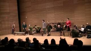 Concert held at Stamps Auditorium, February 15, 8pm Program (Part I): Beksan RETNÅ PRAMUDYÅ: Ladrang KÅNDHÅ MANYURÅ (laras pélog pathet barang) Zoë McLaughli...