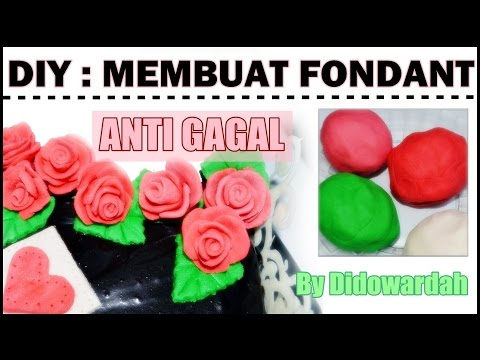 Tutorial Membuat Fondant ANTI GAGAL | Cooking Series #1