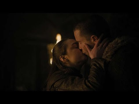 Arya and Gendry - Game of Thrones (Season 1, 2, 3, and 8)