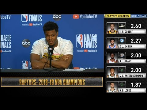 Kyle Lowry postgame reaction | Warriors vs Raptors Game 6 | 2019 NBA Finals