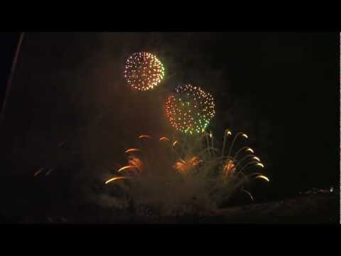 Int. Vuurwerk Festival Knokke-Heist 2012: Scarpato &amp; PyroEmotions &#8211;  Italy &#8211; Itali &#8211; Fireworks