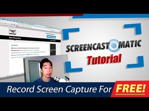 Screencast O Matic.com - http://www.outsourcinglive.com/ Learn how to use Screencast-O-Matic to capture all your screen videos online with a very simple easy step by step system. Thi...