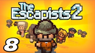Let's play The Escapists 2! In this episode, Punchwood discovers the unemployment office and gets paid for doing nothing!