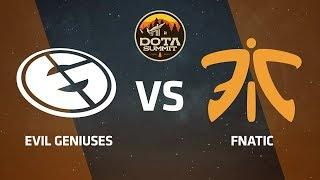 Evil Geniuses против Fnatic, Вторая карта, DOTA Summit 9 LAN-Final