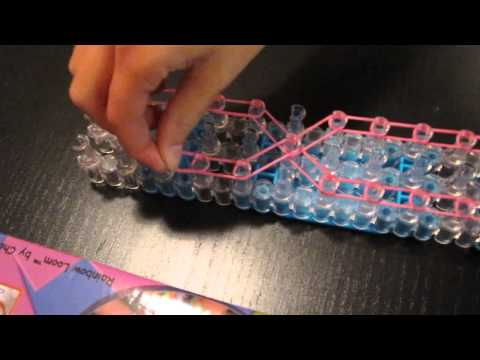How to Make a Pink Ribbon Rainbow Loom Charm Bracelet