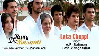 Video Luka Chuppi - Official Audio Song | Rang De Basanti | A.R. Rahman | Lata Mangeshkar MP3, 3GP, MP4, WEBM, AVI, FLV Juni 2019