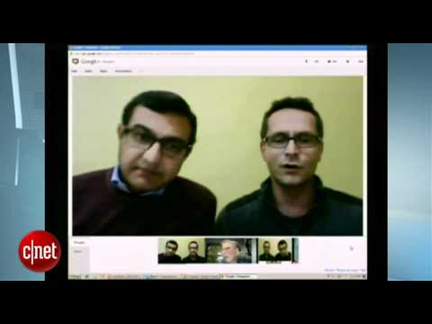 Image of Google+ Redesign - Google+ leaders Vic Gundotra and Bradley Horowitz talking about the  new Google+ (G+) design