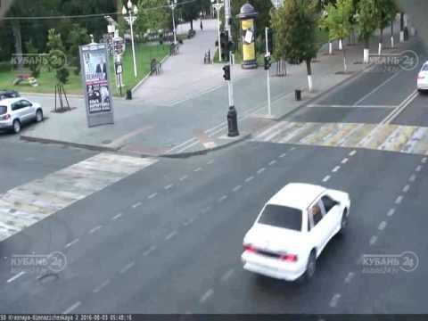 Авария в Краснодаре 02 08 2016