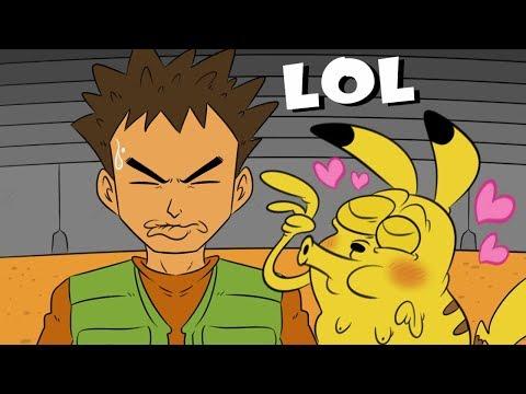 Dibujos de amor - Brock el duro... (Animación Pokémon)