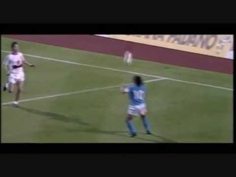 i gol e le azioni più belle di maradona