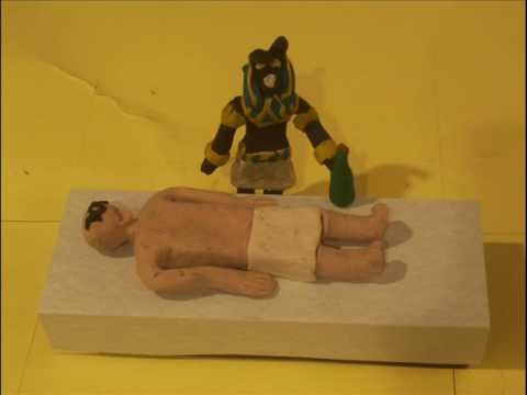 Mummification - Claymation of the mummification process.
