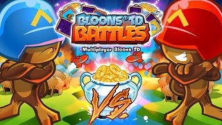 1VS1 SUPER $$$ STRATEGY - BLOONS TD BATTLES