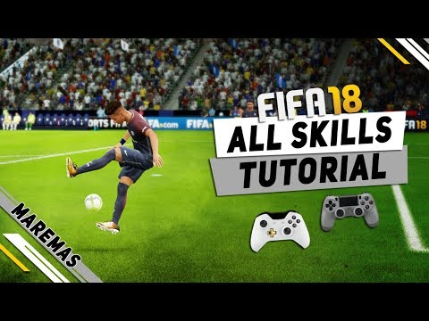 FIFA 18 ALL TRICKS AND SKILLS TUTORIAL | NEW MOVES AND UNLISTED SKILLS | PS4, Xbox One & PC