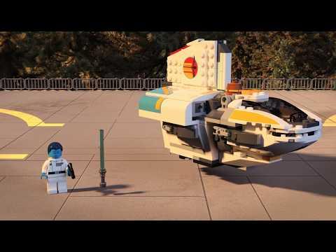 Конструктор Фантом - LEGO STAR WARS - фото № 10