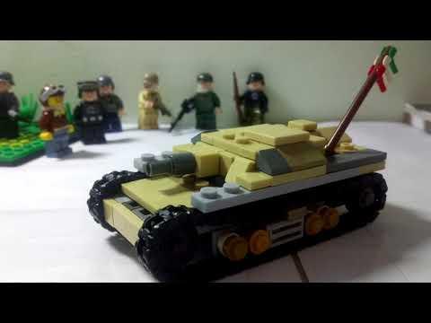 Lego ww2 semovente da 75 /18 tank(Italian)
