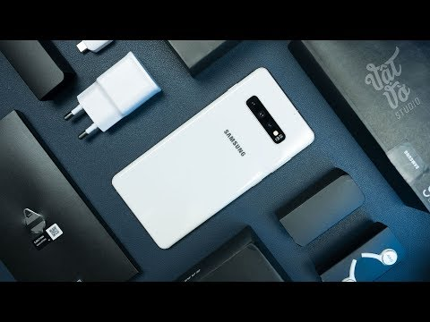 Mở hộp Samsung Galaxy S10+ bản đắt nhất, xịn nhấttt
