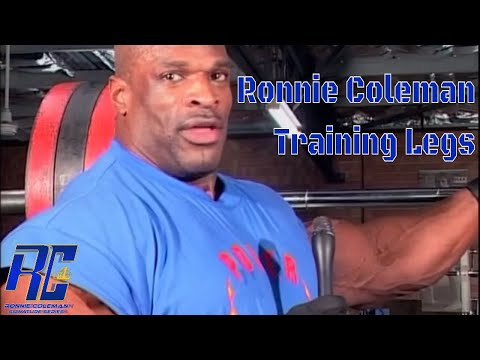 Ronnie Coleman Rare Leg Training Post Olympia | In HD