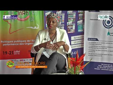 JNRH 2018 - Interview de Mme Fanta Traoré CEO & Founder at EMPOWER Talents & Careers