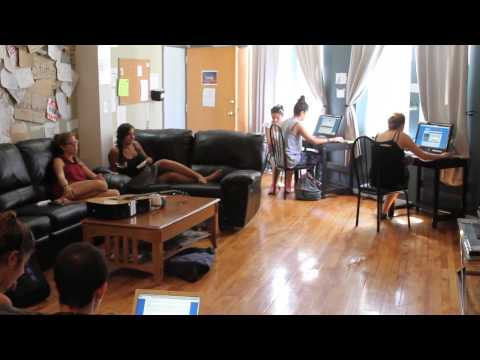 Video av IHSP Chicago Hostel at Damen CTA