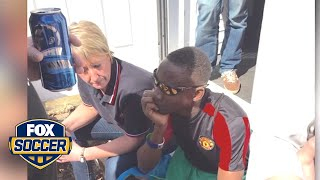 Man United supporters rally around distraught fan from Sierra Leone by FOX Soccer