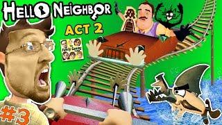 Video ESCAPE HELLO NEIGHBOR PRISON: FGTEEV ACT 2 - Roller Coaster, Shark & Doll House (Full Game Part 3) MP3, 3GP, MP4, WEBM, AVI, FLV September 2019