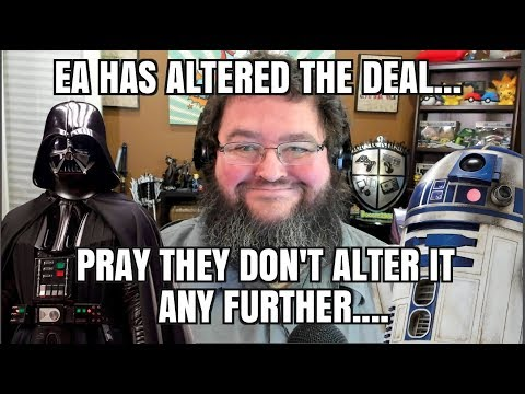 EA TEMPORARILY TURNS OFF IN GAME PURCHASES STAR WARS BATTLEFRONT 2!