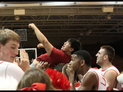 Senior - Marist senior Matthew Kark hit a half-court shot at Marist Madness on Wednesday night, October 29 in McCann Arena for $10000! Here's a look at Matthew's shot courtesy of the Red Fox Network.