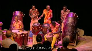 Thalwil Switzerland  City new picture : Ayekoo Drummers Live in Thalwil, Switzerland 2015 #1