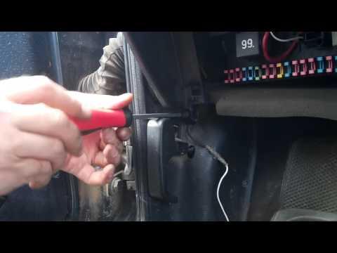 Volkswagen passat b3 блок предохранителей реле фотка