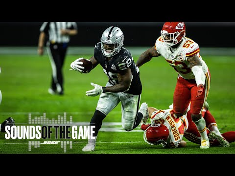 Raiders Week 11 Matchup vs. Chiefs | Sounds of the Game | Las Vegas Raiders