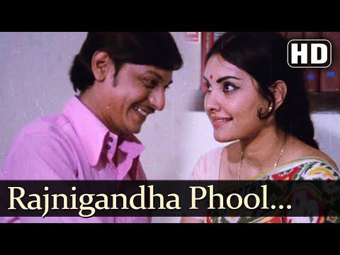Video Rajnigandha Phool Tumhare - Rajnigandha Song - Amol Palekar - Vidya Sinha - Lata Mangeshkar download in MP3, 3GP, MP4, WEBM, AVI, FLV January 2017