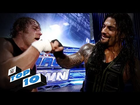 Top 10 WWE SmackDown moments - January 9, 2015