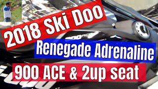 10. 2018 Ski Doo Renegade Adrenaline 900 ACE 2up in black quick look