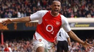 Die besten Treffer des Thierry Henry für den Arsenal FC
