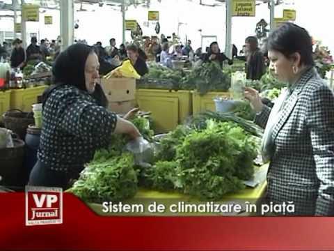 Sistem de climatizare în piață