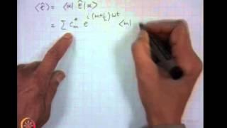 Mod-05 Lec-33 Quantization Of EM Field (Contd....)