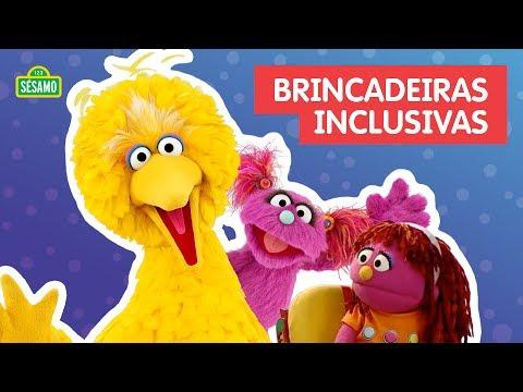 Brincadeiras Inclusivas!