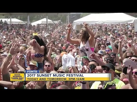 Sunset Music Festival returns this weekend with changes planned