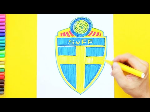 How To Draw Sweden National Football Team Logo