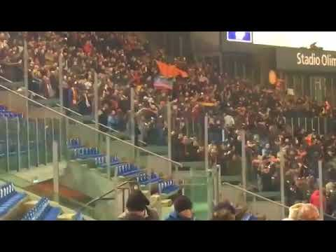 Донбасс: флаг ДНР на матче \